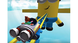 The Admin Ride Rocket Minions Into Cart Roblox For AW7Rqptw