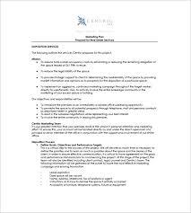 15 Real Estate Marketing Plan Free Sample Example Format