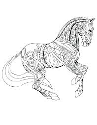 Realistic Horse Coloring Pages Gopaymentinfo