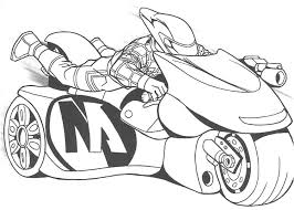 Small Picture Action Man Drive Sport Motorcycle Coloring Page Action Man