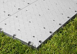 fastdeck event flooring on grass