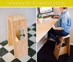 modern plywood furniture. How To: Make A Modern DIY Plywood Stool Furniture O