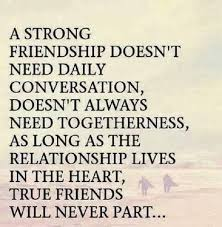quote about distance and friendship