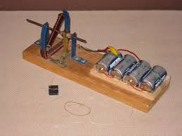 simple homemade electric motor. A Very Simple Electric Motor. Homemade Motor