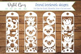 Create a qr code with your own logo, colours and shapes. Animal Bookmark Designs Graphic By Digital Gems Creative Fabrica