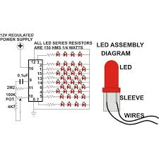 how to build a simple circuit for led christmas tree decoration? do led ac circuit diagrams at Led Circuit Diagrams