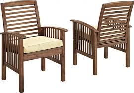 piece acacia outdoor patio walker edison  piece acacia wood patio dining set with cushions