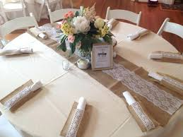 5 flower fits dimensions runner table and round runners for tables burlap foot lace size new
