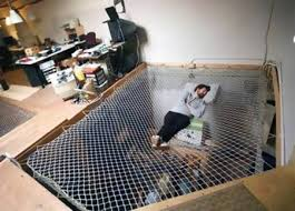image cool home office. hereu0027s an office with a cool spiderweb bed mixing business pleasure amazing image home