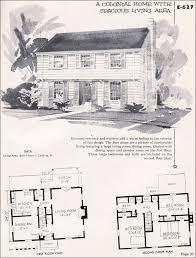 colonial house plans. Plan No. E-627 Colonial House Plans O