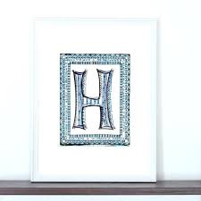 letter h wall decor galvanized metal letter wall decor