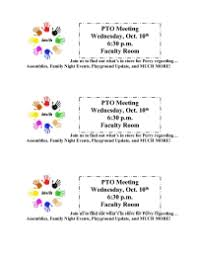 Pta Elections Flyer Printable Pto Election Flyer Wiring Diagram And Electrical Schematic