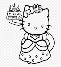 Search images from huge database containing over 620,000 coloring pages. Hello Kitty Coloring Pages Transparent Background Hello Kitty Castle Coloring Page Clipart 5160625 Pikpng