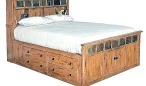 Twin Xl Bed Frame With Drawers Elegant And Headboard O Platform