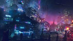 Digital City Backgrounds ...