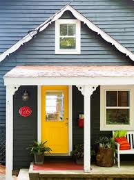 exterior door colors for yellow house. {yellow front doors} {source: better homes and gardens} exterior door colors for yellow house n