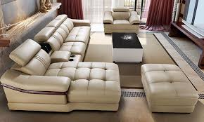 chinese living room furniture. ivory sectional living room 6pieces set sofa modern design chinese furniture