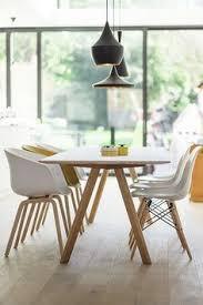 i like the chairs hay copenhagen eames dsw tom dixon beat bo