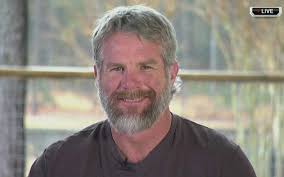 watch brett favre is all about nose hair eyebrow trimming   and his head of hair has become unruly