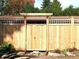 Backyard Fence Designs Extraordinary Cedar Fence Gate Cedar Fence Designs Backyard Gates Ideas Cedar