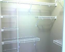 wire closet shelving lowes racks organizer ideas how h33