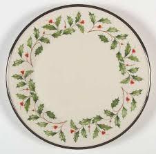 lenox holiday china. Perfect China Lenox Holiday Platinum Dinner Plate On China O