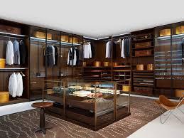 image of walk in closet island dresser