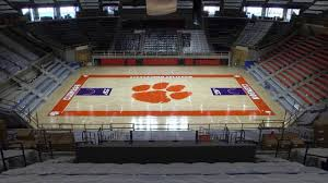 Little John Arena Seating Chart Basketball Littlejohn Coliseum Court Painting Clemson