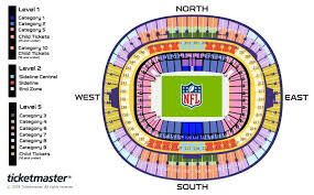 Wembley Stadium Nfl Seating Chart Nfl Houston Texans V Jacksonville Jaguars Seating Plan
