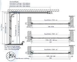 sectional garage door head detail sectional garage door head detail increase garage door height