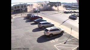 security camera captures suv as it crashed into downtown building kansas city star