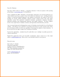 Gallery Of Sample Cover Letter For A New Teacher Job Cover Letters