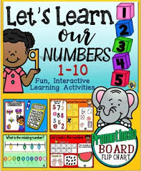 Interactive Number Flip Chart Let S Learn Our Numbers 1 10 Promethean Board Flip Chart