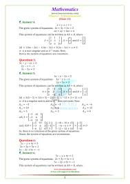 ncert solutions for class 12 maths chapter 4 exercise 4 6