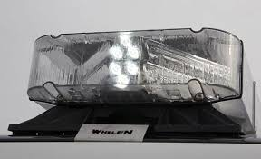 whelen dom series led lightbar dom series led lightbar side view