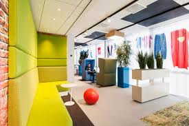image of google office. Home Office Inspiration From Google Amsterdam Design Furniture Floor Plan Layout With Lounge And Public Image Of