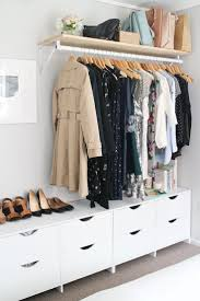 Need closet solution for basement br that has no closet