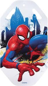 """<b>Ледянка</b> 1TOY """"<b>Marvel</b>. <b>Человек</b>-<b>Паук</b>"""", цвет: красный, 92 см"""