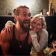 Jason Momoa and Emilia Clarke's mini-Game of Thrones ...