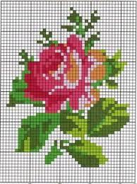 624 Best Cross Stitch Flowers Images Cross Stitch