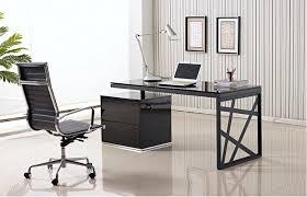 creative office desks. Modern Office Desk In Black Lacquer Creative Desks O