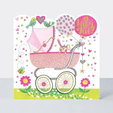 Baby Girl Cards A Baby Girl New Baby Girl Cards Baby Greeting Cards New Baby Cards Congratulations New Baby Girl Wishes Cute Card