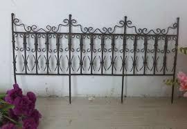 35 decorative metal garden fencing top decorative metal garden fencing small fence cozy inspiration 9