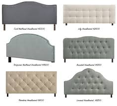 types of headboards. Exellent Types Intended Types Of Headboards D