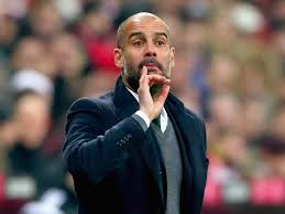 Image result for Pep Guardiola is picture