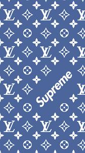 Supreme Design Wallpaper Louis Vuitton X Supreme Pattern Wallpaper Supreme Iphone