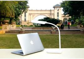 desk lamp with usb port lovely table lamps powered led regarding furniture