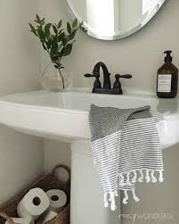 best 25 pedestal sink bathroom ideas on pedestal sink