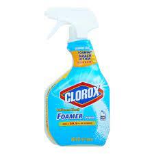 Clorox Bathroom Bleach Foamer Spray Shop All Purpose Cleaners At H E B