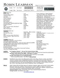 Athletic Resume Template Free Acting Resume Template Free Download httpwwwresumecareer 13